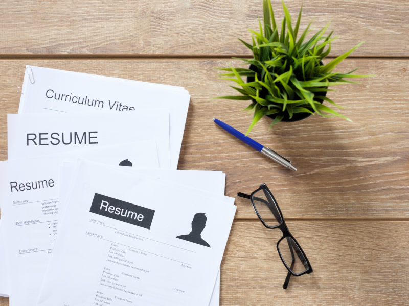 履歷表範本 | CV Template